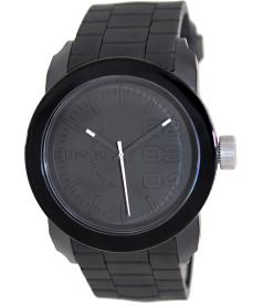 Diesel Men's DZ1437 Black Rubber Analog Quartz Watch