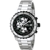 Invicta Men's Pilot Collection 6000 Black Stainless-Steel Quartz Watch