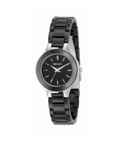 Dkny Women's NY4887 Black Ceramic Quartz Watch