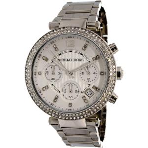 Michael Kors Women's Parker MK5353 Silver Stainless-Steel Quartz Watch