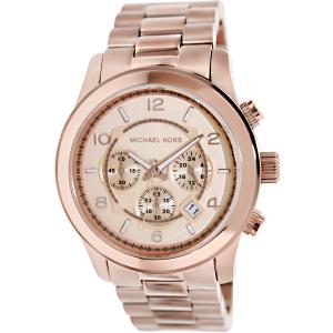 Michael Kors Men's Runway MK8096 Rose-Gold Stainless-Steel Quartz Watch