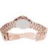 Michael Kors Men's Runway MK8096 Rose-Gold Stainless-Steel Quartz Watch - Back Image Swatch