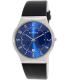 Skagen Men's Classic 233XXLSLN Black Leather Quartz Watch - Main Image Swatch
