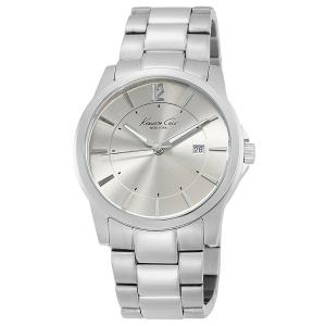 Kenneth Cole Men's Modern Core KC3915 Silver Stainless-Steel Quartz Watch