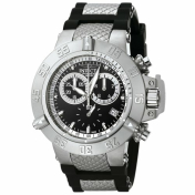 Invicta Men's 5511 Black Rubber Swiss Quartz Watch