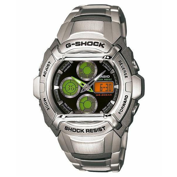 Casio Men's G501FD-1A Black Stainless-Steel Quartz Watch