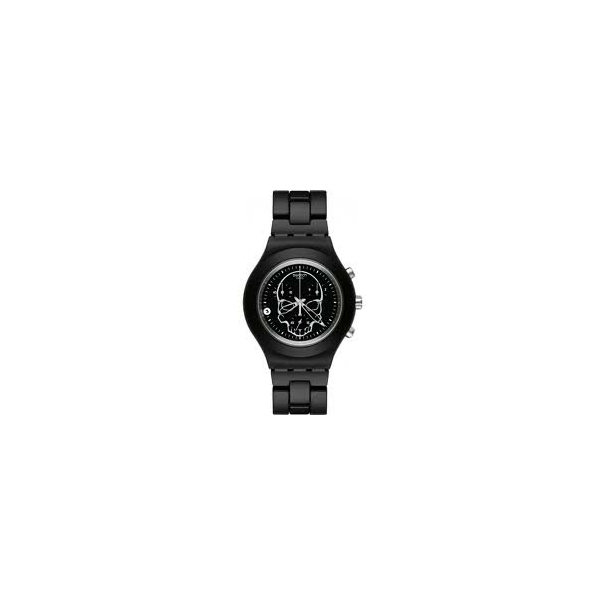 Swatch Men's SVCF4001AG Black Aluminum Quartz Watch