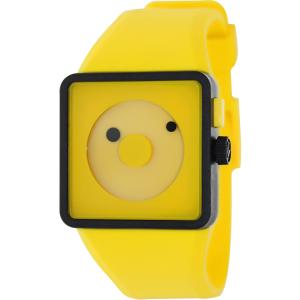 Nixon Men's Newton A116250 Yellow Plastic Analog Quartz Watch