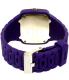 Nixon Men's A139230 Purple Silicone Quartz Watch - Back Image Swatch