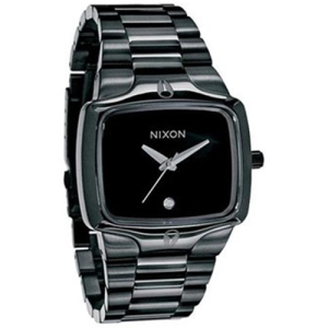 Nixon Men's Player A140001 Black Stainless-Steel Quartz Watch