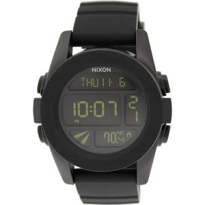 Nixon Men's Unit A197000 Black Polyurethane Quartz Watch