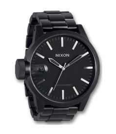 Nixon Men's Chronicle A1981028 Black Stainless-Steel Quartz Watch