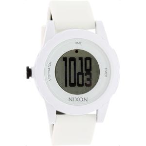 Nixon Men's Genie A326100 White Polyurethane Quartz Watch