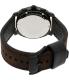 Fossil Men's Machine FS4656 Brown Leather Analog Quartz Watch - Back Image Swatch