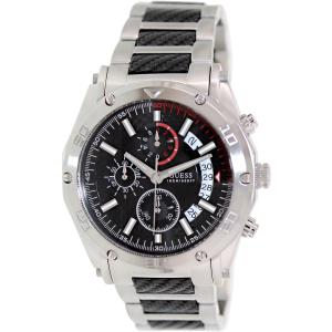 Guess Men's U17519G1 Black Stainless-Steel Quartz Watch