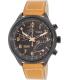 Timex Men's IQ T2N700 Brown Calf Skin Quartz Watch - Main Image Swatch