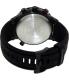Timex Men's IQ T2N720 Black Silicone Quartz Watch - Back Image Swatch