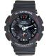 Casio Men's G-Shock GA120-1A Black Resin Quartz Watch - Main Image Swatch