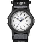 Timex Men's Expedition T49713 White Nylon Analog Quartz Watch