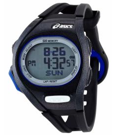 Asics Men's Race CQAR0101 Black Polyurethane Quartz Watch