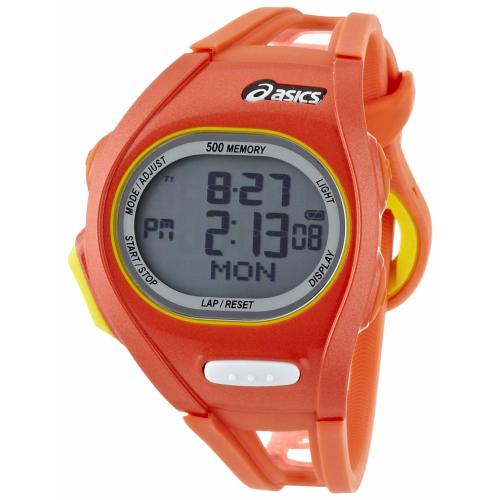 Asics Men's Race CQAR0107 Orange Polyurethane Quartz Watch