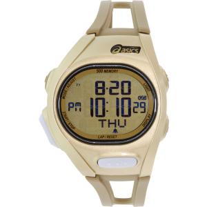 Asics Men's Race CQAR0208 Gold Polyurethane Quartz Watch