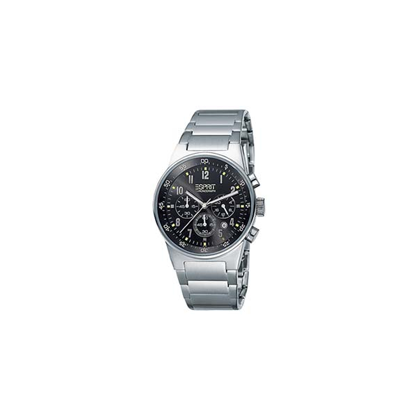 Esprit Men's ES000T31041 Black Stainless-Steel Quartz Watch