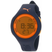 Puma Men's Active PU910801016 Orange Plastic Quartz Watch