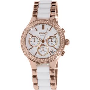 Dkny Women's Broadway NY8183 Rose Gold Ceramic Quartz Watch