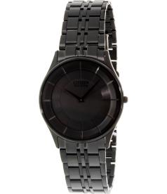 Citizen Men's Eco Drive Slim AR3015-61E Black Stainless-Steel Eco-Drive Watch