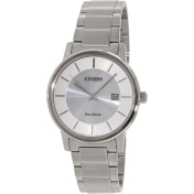 Citizen Men's Eco Drive 100M BM6750-59A Silver Stainless-Steel Eco-Drive Watch