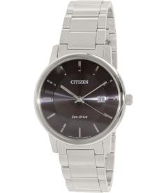 Citizen Men's Eco Drive 100M BM6750-59E Black Stainless-Steel Eco-Drive Watch