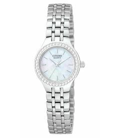 Citizen Women's Classic Quartz EJ6040-51D Mother-Of-Pearl Stainless-Steel Quartz Watch