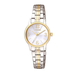 Citizen Women's Classic Quartz EX0294-58H White Stainless-Steel Quartz Watch