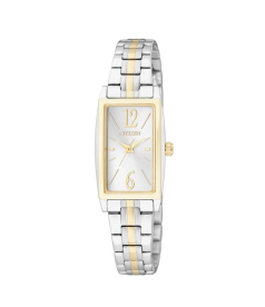 Citizen Women's Classic Quartz EX0304-56A Silver Stainless-Steel Quartz Watch