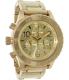 Nixon Men's 42-20 A037502 Gold Stainless-Steel Quartz Watch - Main Image Swatch