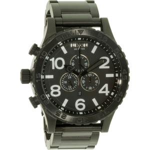 Nixon Men's 51-30 A083001 Black Stainless-Steel Analog Quartz Watch