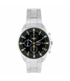 Seiko Men's SNDC89 Black Stainless-Steel Quartz Watch