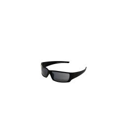 Fossil Women's Fullerton MS3928V004 Black Wrap Sunglasses