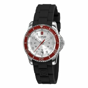 Victorinox Swiss Army Women's Maverick GS 241484 Black Rubber Swiss Quartz Watch