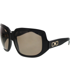 Dsquared Women's  DQ 0020-01J-63 Black Round Sunglasses
