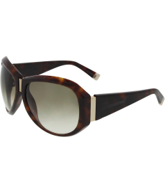 Dsquared Women's Gradient  DQ 0037-52F-61 Brown Butterfly Sunglasses