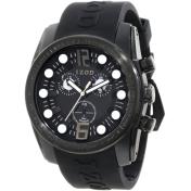Izod Men's IZS2/2.Black.Black Black Resin Quartz Watch