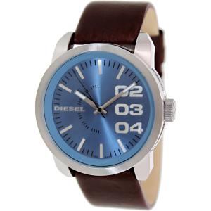 Diesel Men's Not So Basic DZ1512 Brown Leather Quartz Watch