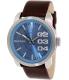 Diesel Men's Not So Basic DZ1512 Brown Leather Quartz Watch - Main Image Swatch