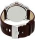 Diesel Men's Not So Basic DZ1512 Brown Leather Quartz Watch - Back Image Swatch