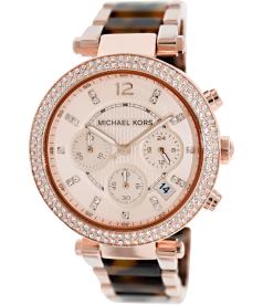 Michael Kors Women's MK5538 Rose-Gold Stainless-Steel Quartz Watch