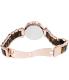 Michael Kors Women's Parker MK5538 Rose-Gold Stainless-Steel Quartz Watch - Back Image Swatch