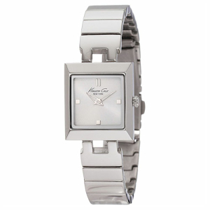 Kenneth Cole Women's Classics KC4770 Silver Stainless-Steel Quartz Watch