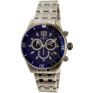 Invicta Men's II Collection 0620 Blue Stainless-Steel Swiss Quartz Watch